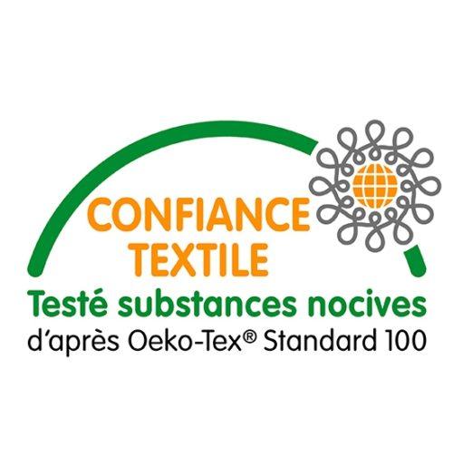 Certifié Confiance Textile Oeko Tex