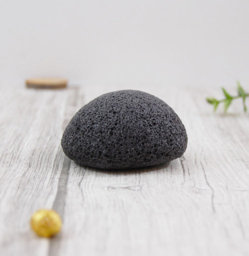 éponge konjac charbon végétal