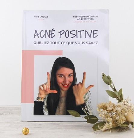 Livre Acné Positive