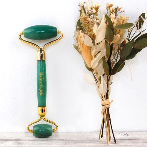 Rouleau de Jade – Aventurine Verte