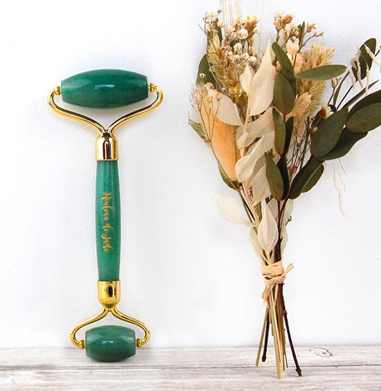 Rouleau de Jade Aventurine Verte Païma